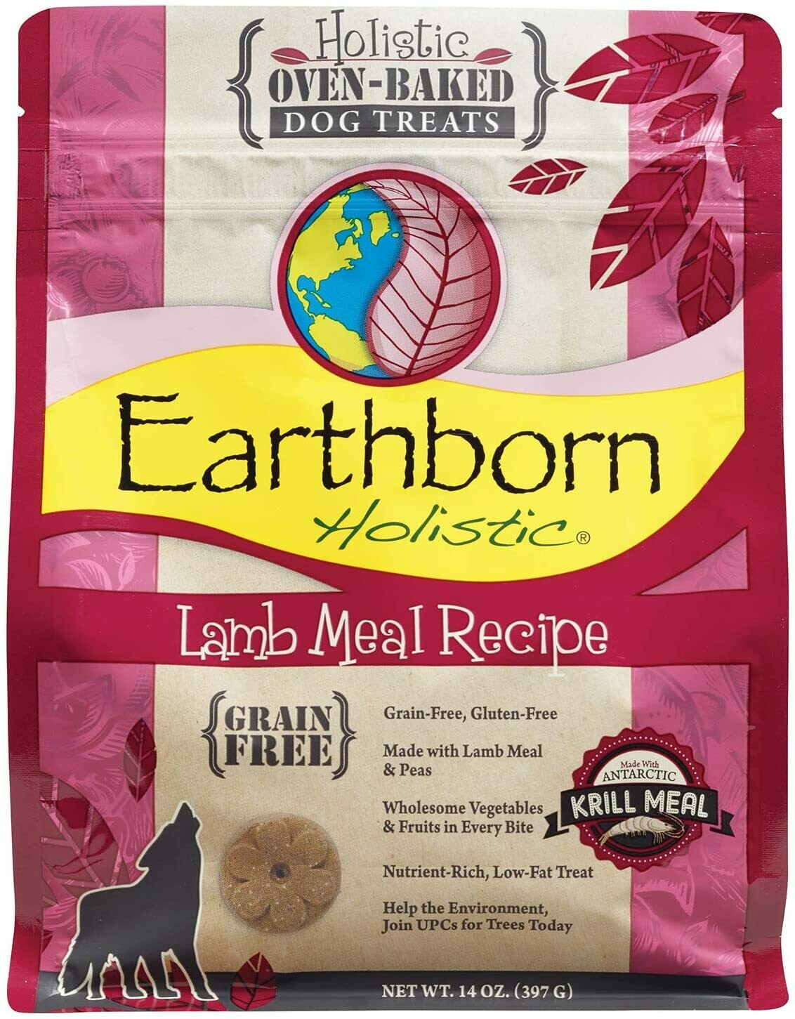 Earthborn Holistic Biscuit 14oz - Lamb