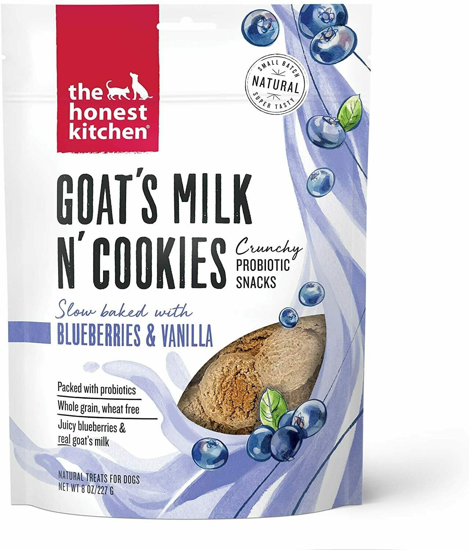 Honest Kitchen Goat Milk Cookie - Blueberry & Vanilla
