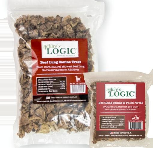 Nature's Logic Beef Lung Bag 1lb