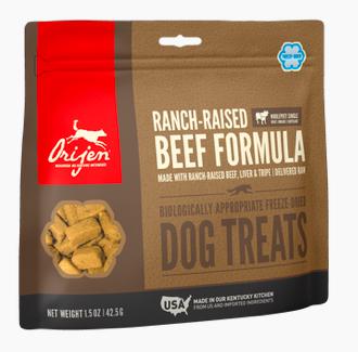 Orijen Freeze Dried Beef Treats 1.5oz