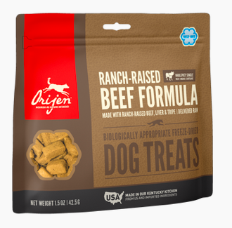Orijen Freeze Dried Beef Treats 1.5oz