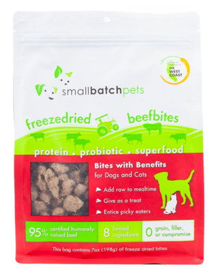 Small Batch Freeze Dried Beef Bites 7oz