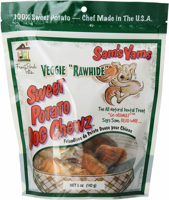 Sam's Yam's Veggie Chew 5oz