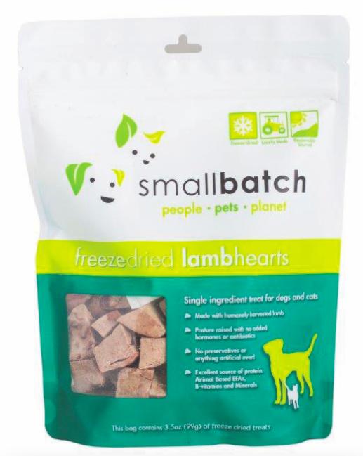 Small Batch Lamb Hearts 3.5oz