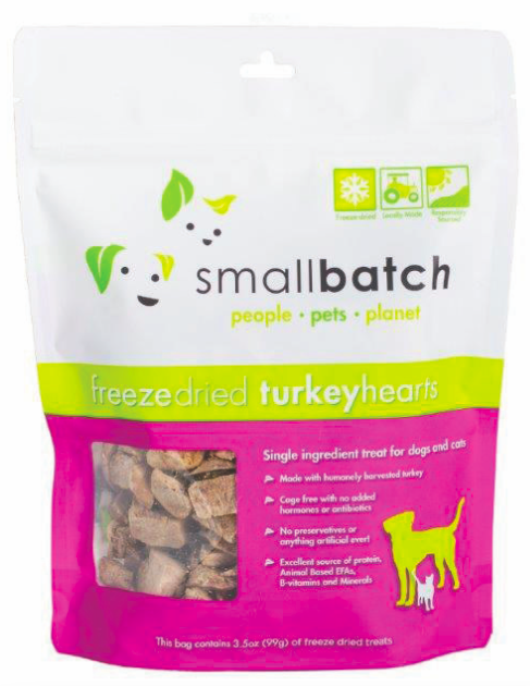 Small Batch Turkey Hearts 3.5oz