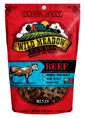 Wild Meadows Beef Minis 4oz