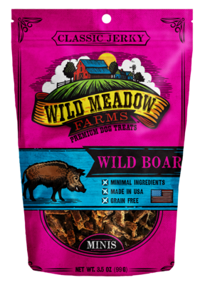 Wild Meadows Wild Boar Minis 3.5oz