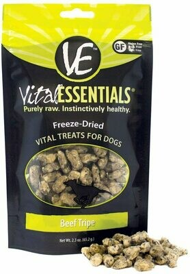 Vital Essentials Freeze Dried Beef Tripe 2.3oz