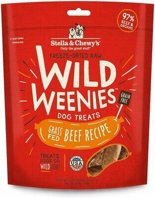 Stella & Chewy's Weenies Beef Treat 3.25