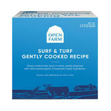 Open Farm Cooked 4.5lb Surf & Turf (Reg $43.99)