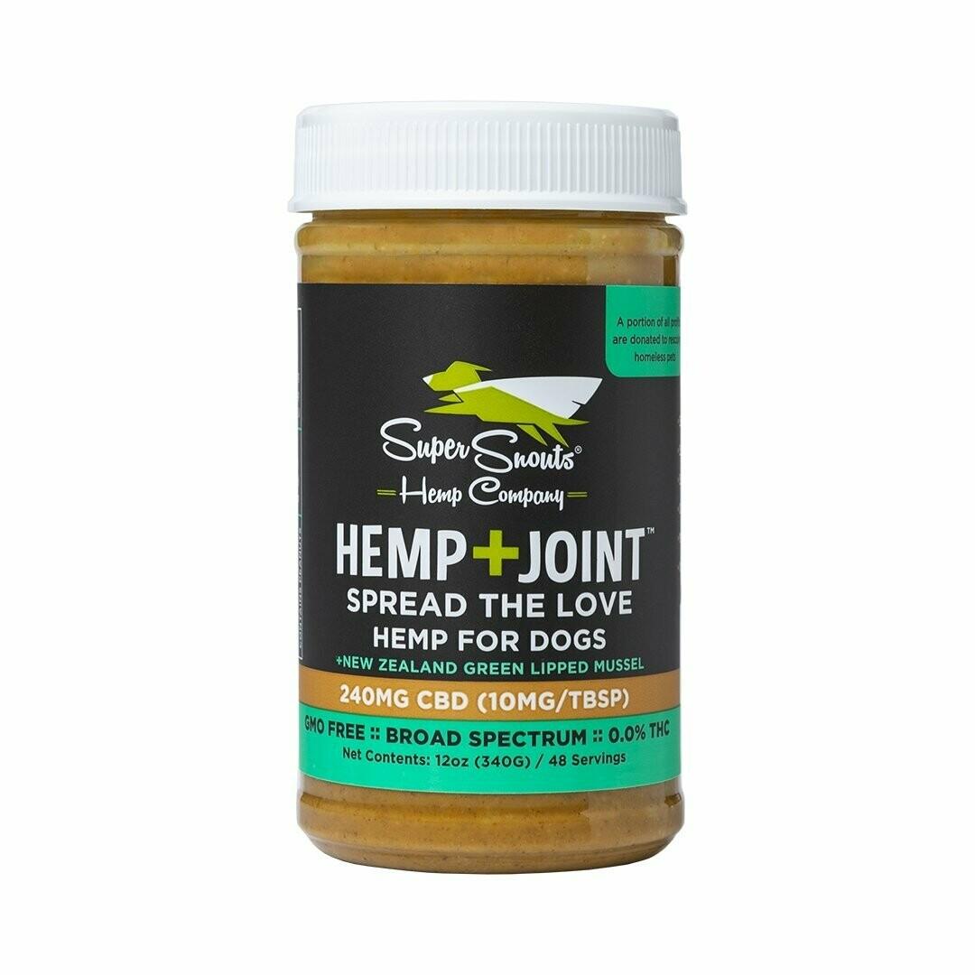 Super Snouts Hemp & Joint CBD Peanut Butter 12 oz