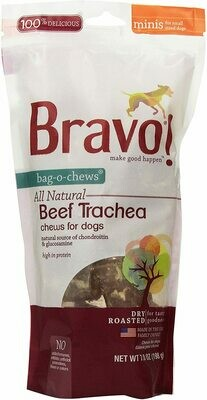 "Bravo Beef Trachea 7oz 1""-2"""