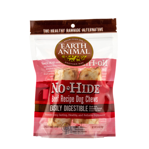 "No Hide Chew 4"" 2pk - Beef"