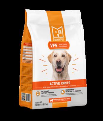 Square Pet VFS Vet Formulated Actice Joints 22lb (Reg $84.99)