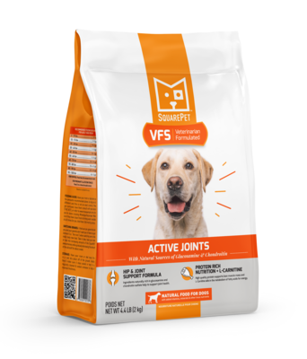 Square Pet VFS Vet Formulated Actice Joints 4.4lb (Reg $26.99)