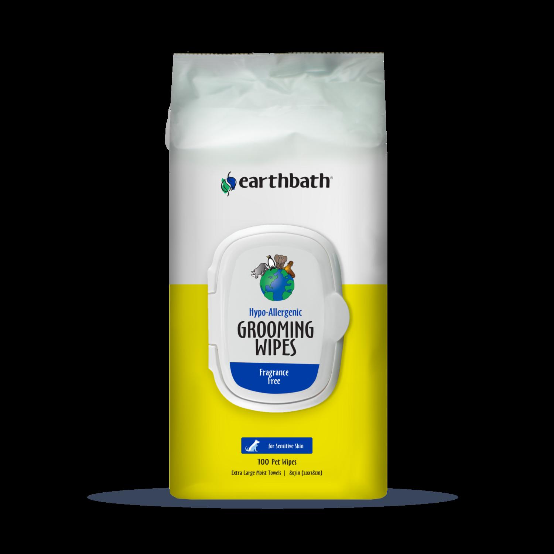 Earthbath Hypoallergenic Wipes 100ct