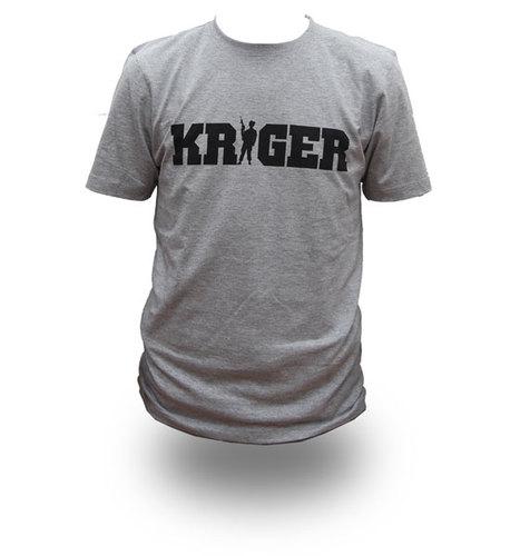 KRIGER, T-shirt - *XL* TILBUD !! 00086