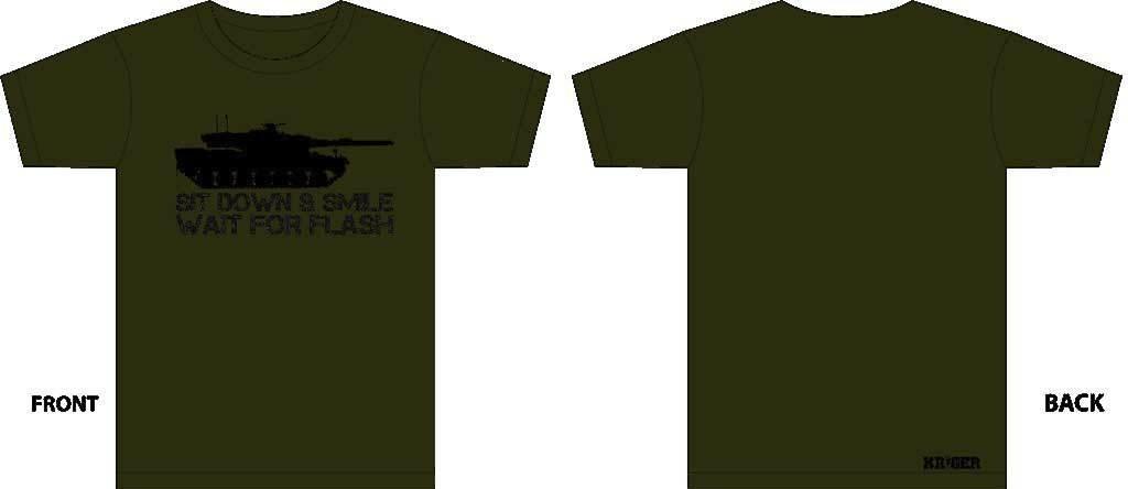 Leopard 2 T-Shirt *SMALL*