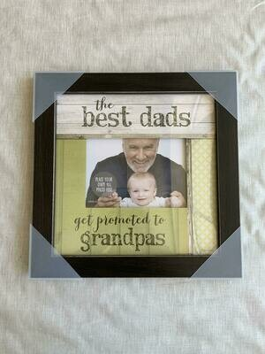 12x12 Dads Promoted to Grandpas Frame