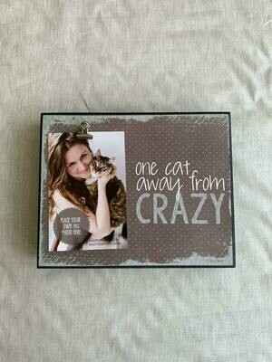 8x10 Cat Crazy Box Frame