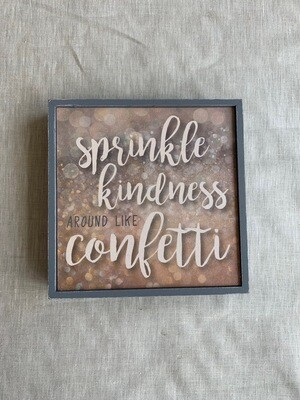 Sprinkle Kindness Open Frame 6.5x6.5