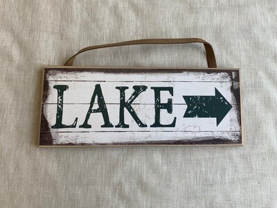 Lake Plaque