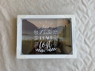 Find A Place Shadowbox 9x12