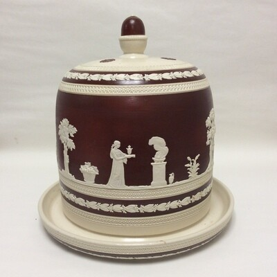 Spode Copeland England Ceramic Cheese Dome