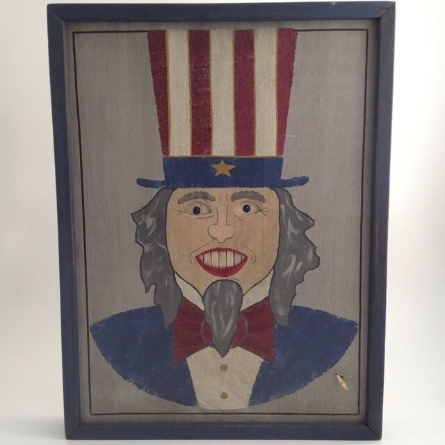 Wind Up Uncle Sam Art