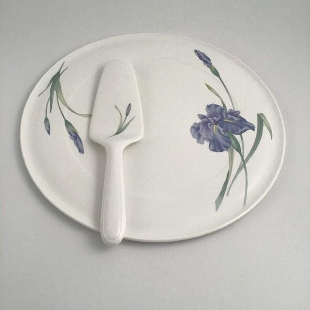 Christopher Stewart Cake Plate And Server Bone China