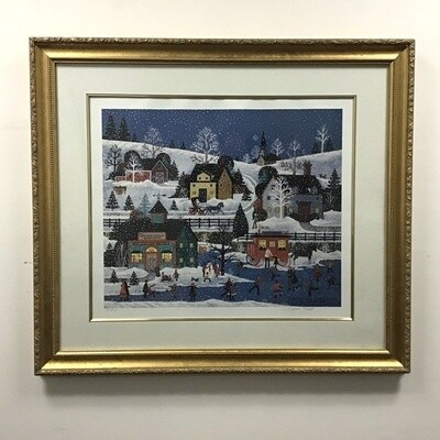 Jane Wooster Scott Limited Edition Print. Framed, Signed and Numbered