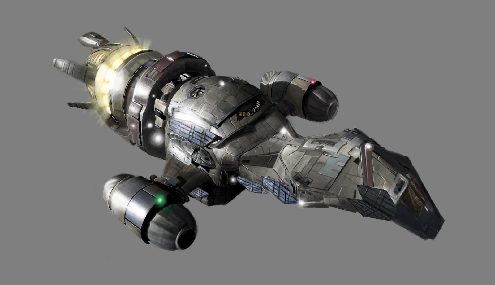 """Spaceships - Firefly class ship """"Serenity"""" / """"Stormbringer"""" 00001"""