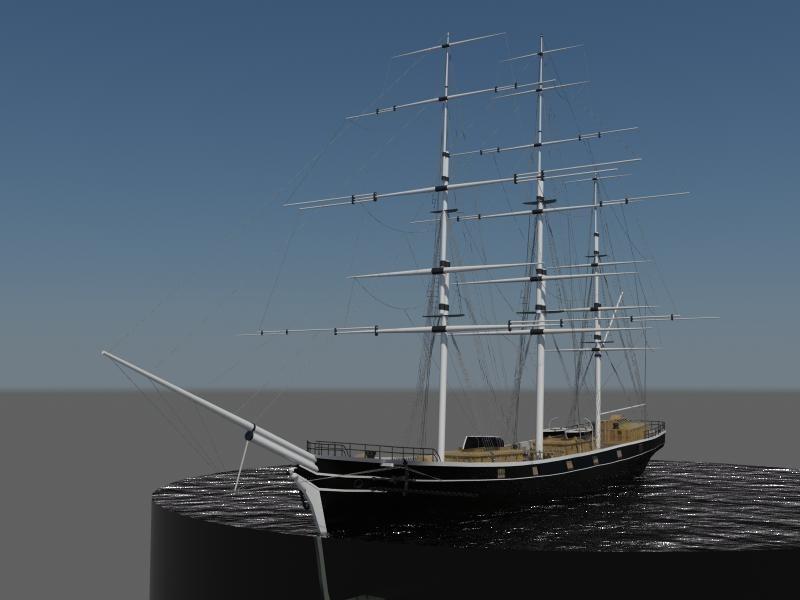 Ships - The Cutty Sark Clipper Ship 00006