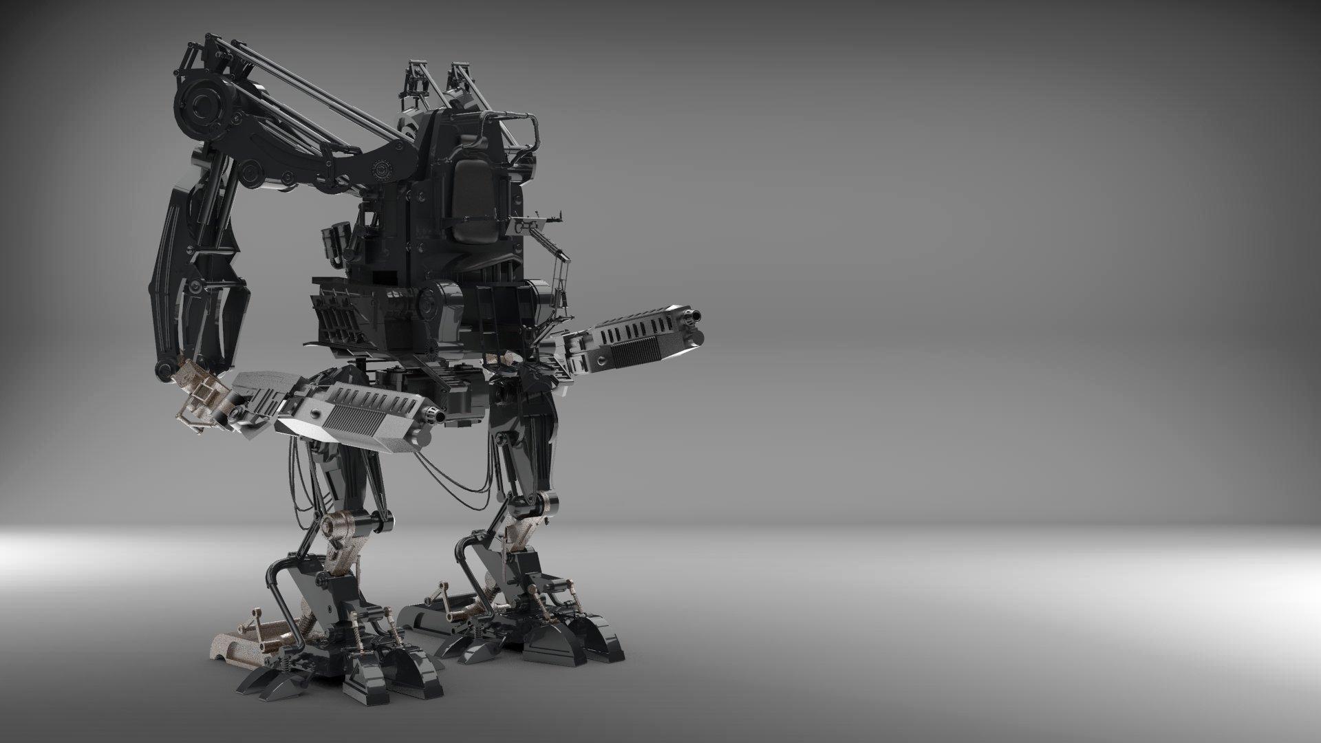 Matrix Apu Armoured Personnel Unit Robot Walker Exosuit APUDL