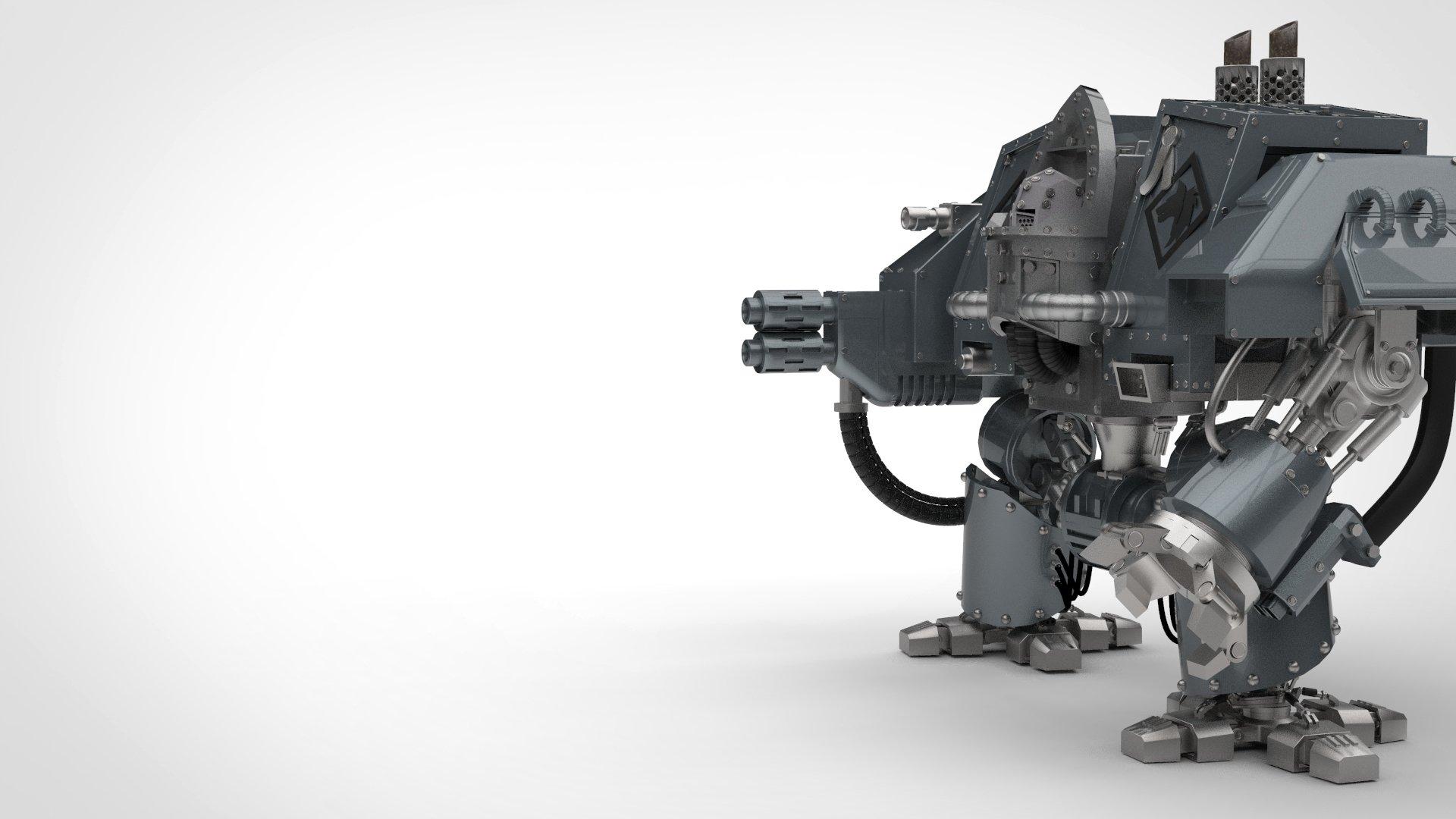 The Warhammer 40k Dreadnought Set Dreadnought