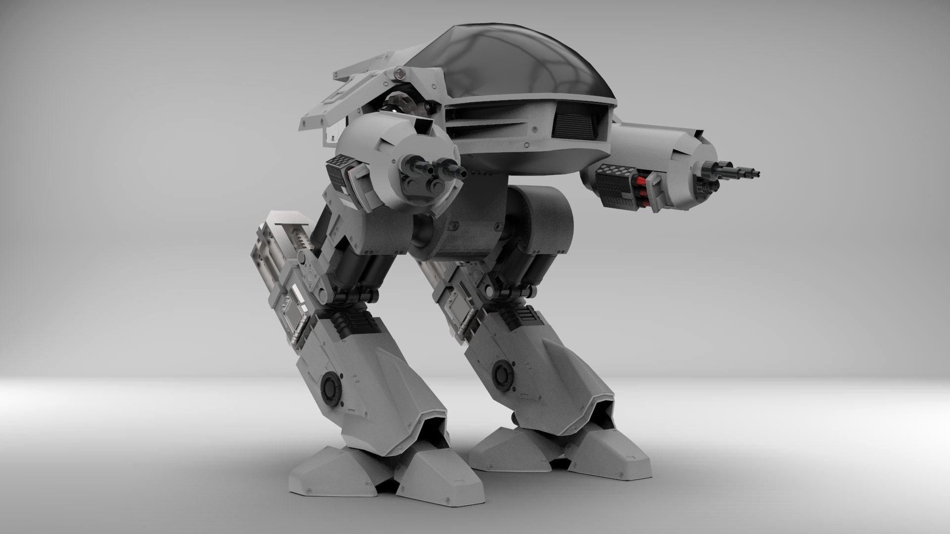 Robocop's ED209 Police Robot 00002