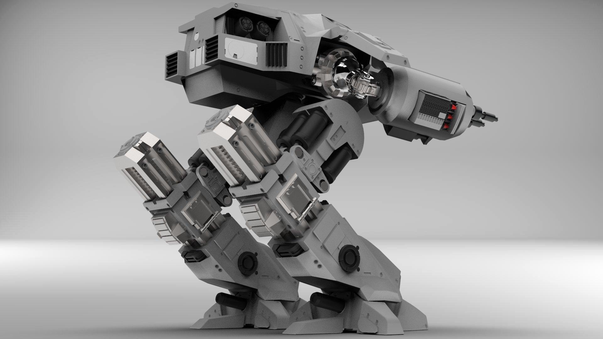 Robocop's ED209 Police Robot