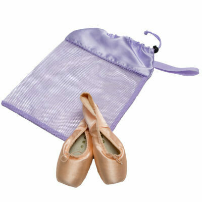 HD 8231 LILAC MESH POINTE SHOE BAG