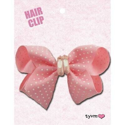 TYVM 78750 BALLET SHOE HAIR BOWS