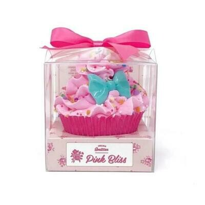 FS LARGE PINK BLISS CUPCAKE BATH BOMB