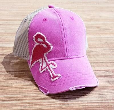 IT Hat Trucker Neon Pink