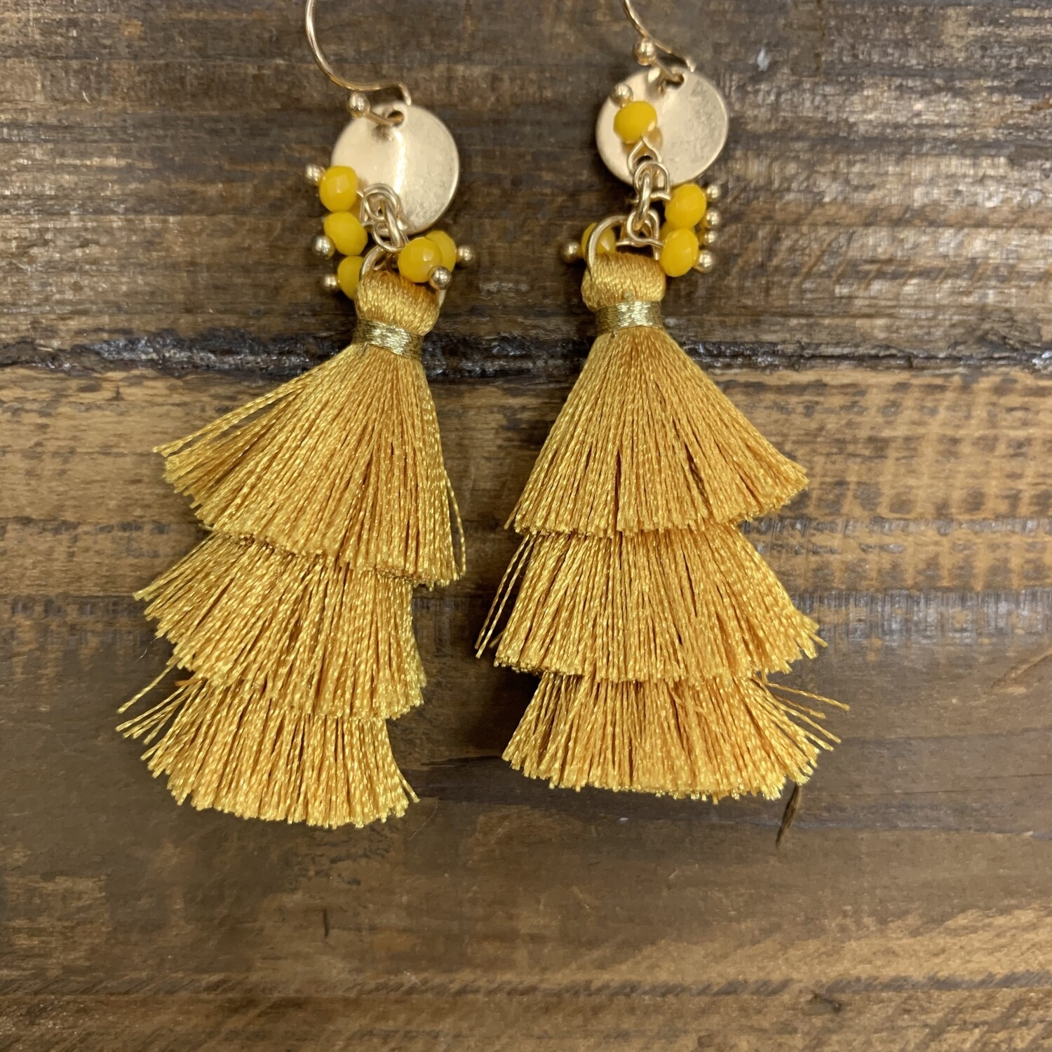 Tassel Layered Earrings