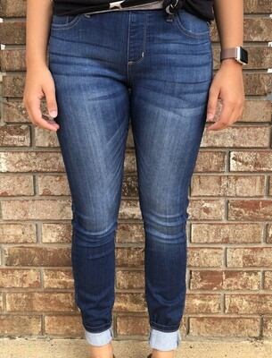 Cello Pull-On Skinny Jeans