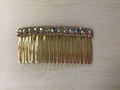 Gold Haircomb