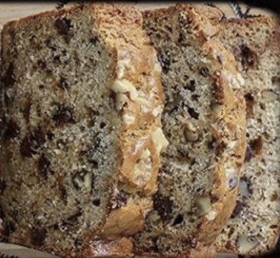 GF/V Banana Bread w/Chocolate Chips