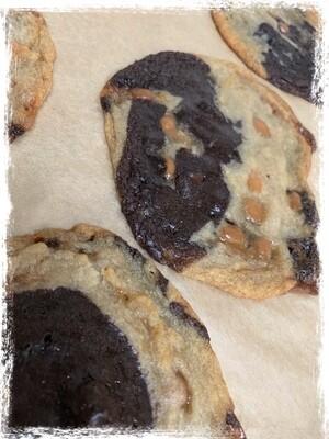 Salted Caramel Brookies