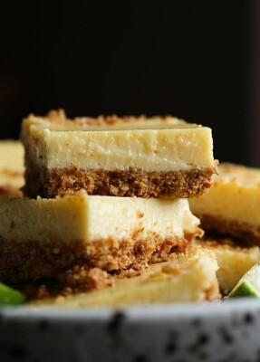 Key Lime Bar w/Pretzel Crust