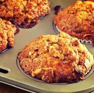 Peach Farmhouse Muffins