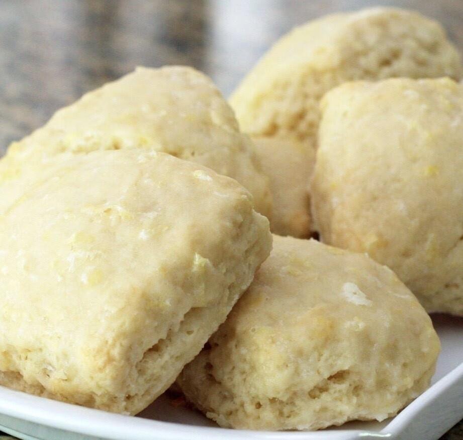 Lemon Cream Scone