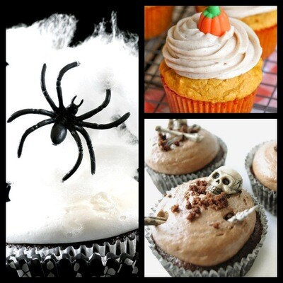 Halloween Cupcake (6 pack) Available  10/29,30,31 ONLY